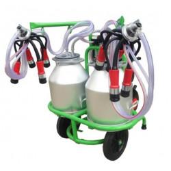 Aparat de muls vaci cu 2 posturi si 2 bidoane aluminiu 30L Gardelina T230x2 AL PC
