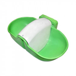 Adapatoare dubla din plastic de 8 litri cu plutitor