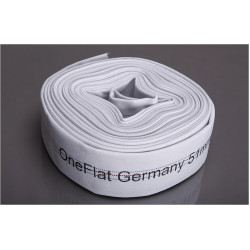 Rola 20 m furtun refulare OneFlat 50 mm acoperit cu tesatura textila