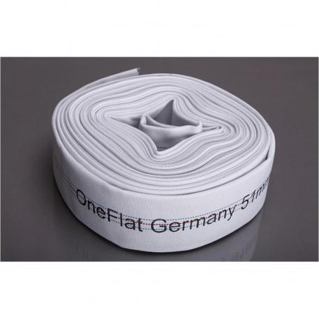 Rola 20 m furtun refulare OneFlat 75 mm acoperit cu tesatura textila
