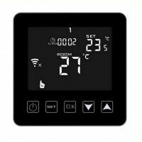 Termostat digital programabil de pardoseala HY08WE-2 black touch screen