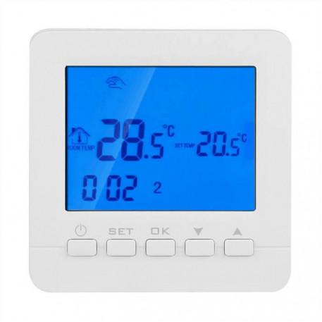Termostat digital programabil de pardoseala HY02B05-2 white