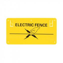 Semn avertizare pentru gard electric