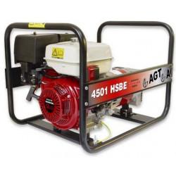 Generator monofazat 4.2kVA cu pornire electrica AGT 4501 HSBE versiune Standard