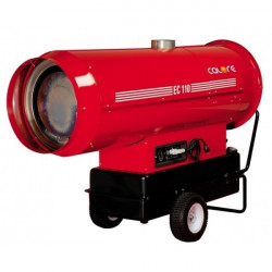 Generator de aer cald cu ardere indirecta pe motorina 110 Kw EC110 Calore