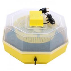 CLEO 5D Incubator cu dispozitiv de intoarcere 41 oua gaina - 74 oua prepelita