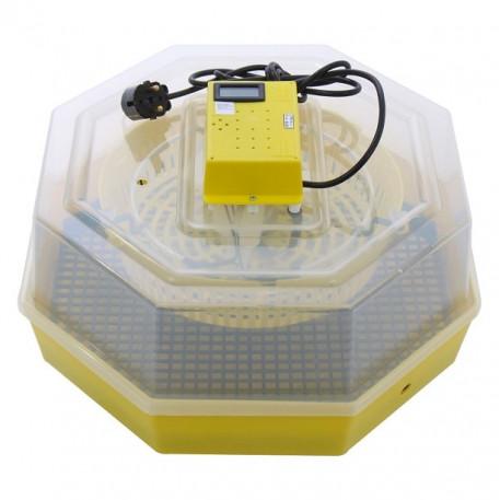 CLEO 5T Incubator cu afisare temperatura 60 oua gaina - 42 oua curca - 50 oua rata - 30 oua gasca - 150 oua prepelita