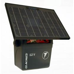 Generator de impulsuri 3J pentru gard electric Lacme Secur 300 + panou solar 10 W