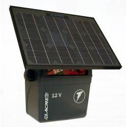 Generator de impulsuri 5J pentru gard electric Lacme Secur 500 + panou solar 25 W