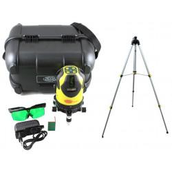 Laser liniar in cruce CL8G cu raza laser verde + trepied SJJ-M1