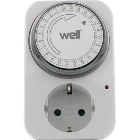 Priza programabila mecanica pentru interior Well