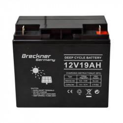 Acumulator pentru panou solar 12V 19A