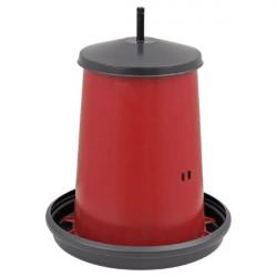Hranitor automat pentru pasari 18kg cu bara filetata din plastic