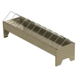 Recipient zincat pentru hranire pasari 50x10 cm