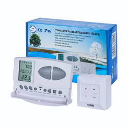 Termostat digital programabil wireless (fara fir) CT7W Conter