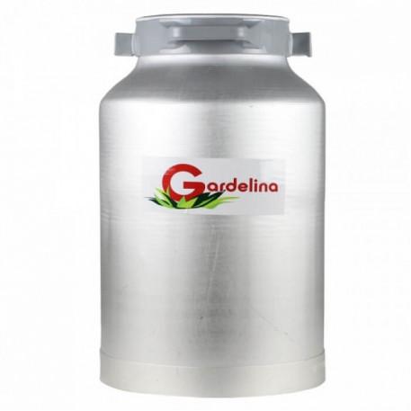 Bidon aluminiu 40 litri cu manere laterale Gardelina