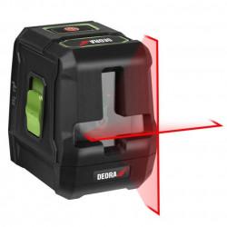 Nivela laser rosu cu linii in cruce MC0901 Dedra