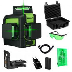 Nivela laser verde cu 3 plane Multilaser 3D Dedra