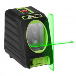 Nivela laser verde cu linii in cruce MC0903 Dedra