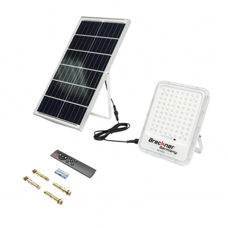 Lampa LED cu panou solar 35W cu proiector 200W IP66 Breckner