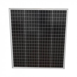 Panou solar fotovoltaic monocristalin 75W 780x680x25mm Breckner