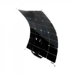 Panou solar fotovoltaic flexibil portabil monocristalin 50W 565x535x2.8mm Breckner