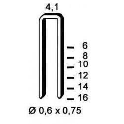 Agrafe stanox , tip TK de 14 mm 10 000  buc Alsafix