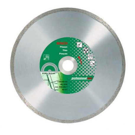 Disc diamantat ECO FPE 180x22,23mm Bosch 2608602204