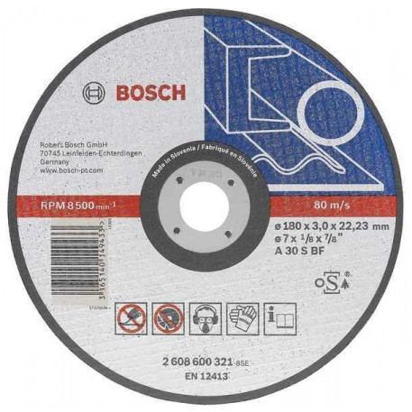 Disc taiere metal 125x1,6 mm BOSCH 2608600219
