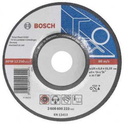 Disc de slefuire metal 125x6 mm Bosch 2608600223