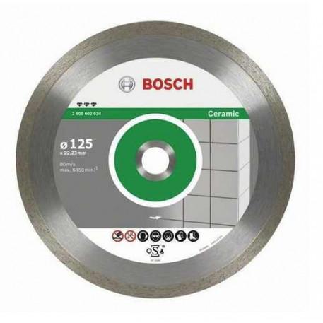 Disc diamantat 125 mm pentru gresie BOSCH 2608602631