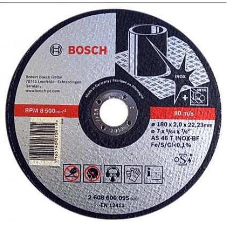 Disc taiere inox si metal 180x2 mm BOSCH 2608600095