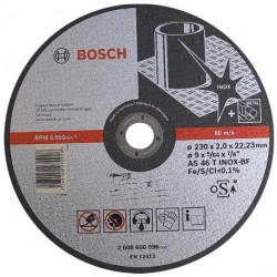 Disc taiere inox si metal 230x2 mm BOSCH 2608600096