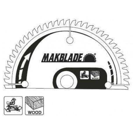 Disc fierastrau circular MAKBLADE 260x30 60T B-09020 Makita
