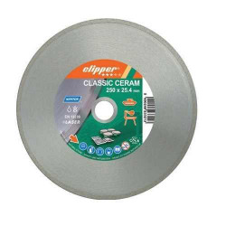 Disc diamantat ceramica 250x25.4 mm Clipper CLASSIC CERAM