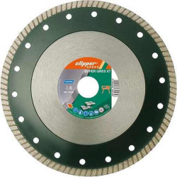 Disc diamantat ceramica 250x25,4 mm SUPER GRESS XT Clipper 0184625428