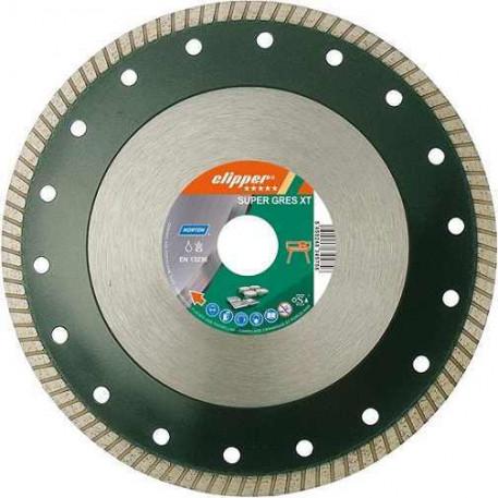Disc diamantat ceramica 250x25,4 mm SUPER GRESS XT Clipper 0184625428
