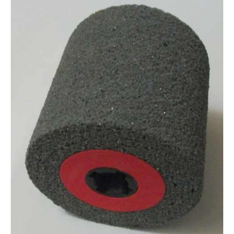 Tambur de satinare cu liant elastic 100x100x19 mm granulatie 16-120