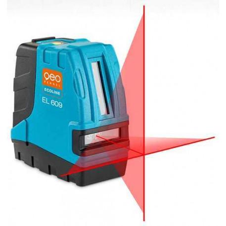 Nivela laser in cruce Ecoline EL 609 Geo-Fennel