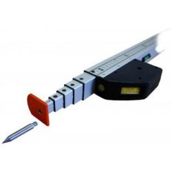 Ruleta telescopica 104-500 cm EasyFix 5 m Geo-Fennel