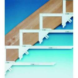 Echer trasare scari pachet baza cu 7 prinderi si 8 echere Art. T110 Hedu