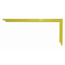 Echer dulgherie galben 700x300 mm cu scala tip A Art. Y070 Hedu