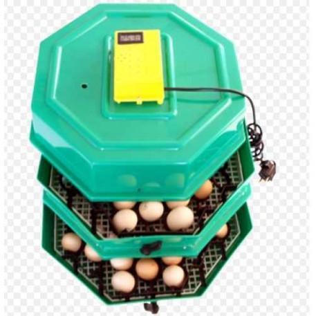 CLEO 5x2DTH  AUTOMAT Incubator cu dispozitiv de intoarcere oua automat 82 oua gaina - 148 oua prepelita