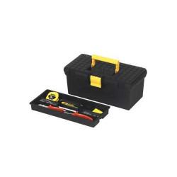 Cutie pentru unelte cu capac plat si tava STANLEY 1-92-766