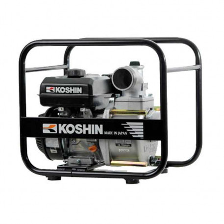 Motopompa apa semimurdara STV-80X KOSHIN Japonia