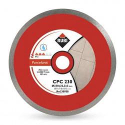 Disc diamantat RUBI CPC 200x25,4 mm pentru portelan