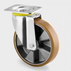 Roata pivotanta din aluminiu 125 mm - 500 kg TENTE 4680ITP125P63 Flat