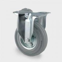 Roata fixa din otel 200 mm - 205 kg TENTE 3478DIR200P63