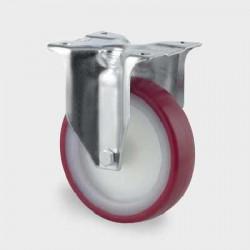 Roata fixa din poliamida 125 mm - 200 kg TENTE 3478UAR125P62 red