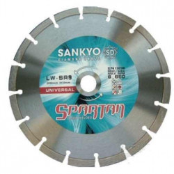 Disc diamantat pentru beton si caramida 115 mm LW-SR4.5 SANKYO